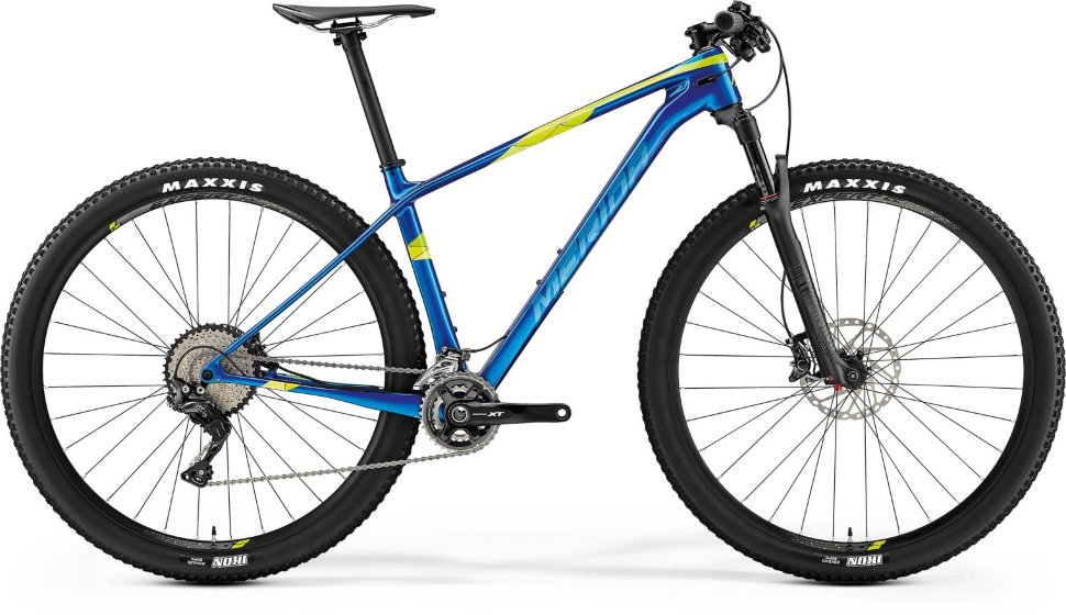 Велосипед Merida Big Nine XT (2019) Blue Green
