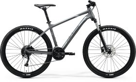 Велосипед Merida Big.Seven 100 (2020) Matt Dark Grey Silver
