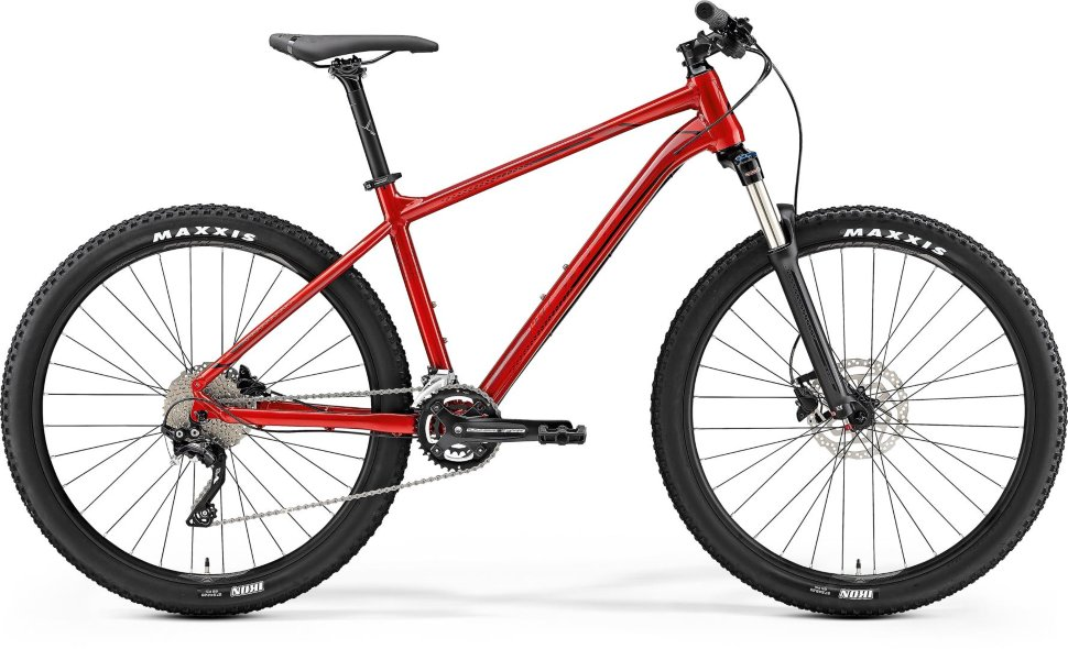 Велосипед Merida Big Seven 300 (2019) Red Black