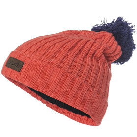Шапка Rip Curl Pompom JR Beanie (Hot Coral)