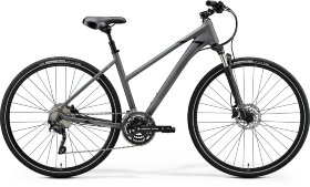 Велосипед Merida Crossway 300 Lady (2020) Matt Dark Grey