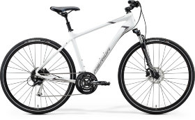 Велосипед Merida Crossway 100 (2020) Matt White Grey