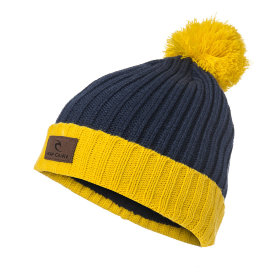 Шапка Rip Curl Pompom Beanie (Spicy Mustard)