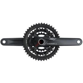 Система+каретка Sram Crank X5 BB30 10sp 175 black 44-33-22 (00.6115.544.090)