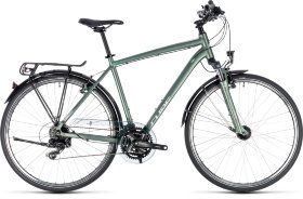 Велосипед Cube Touring (2018) Green Silver
