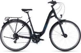 Велосипед Cube Touring EE (2020) Black Blue