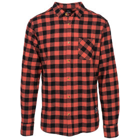 Рубашка Rip Curl Check It Shirt (Mineral Red)