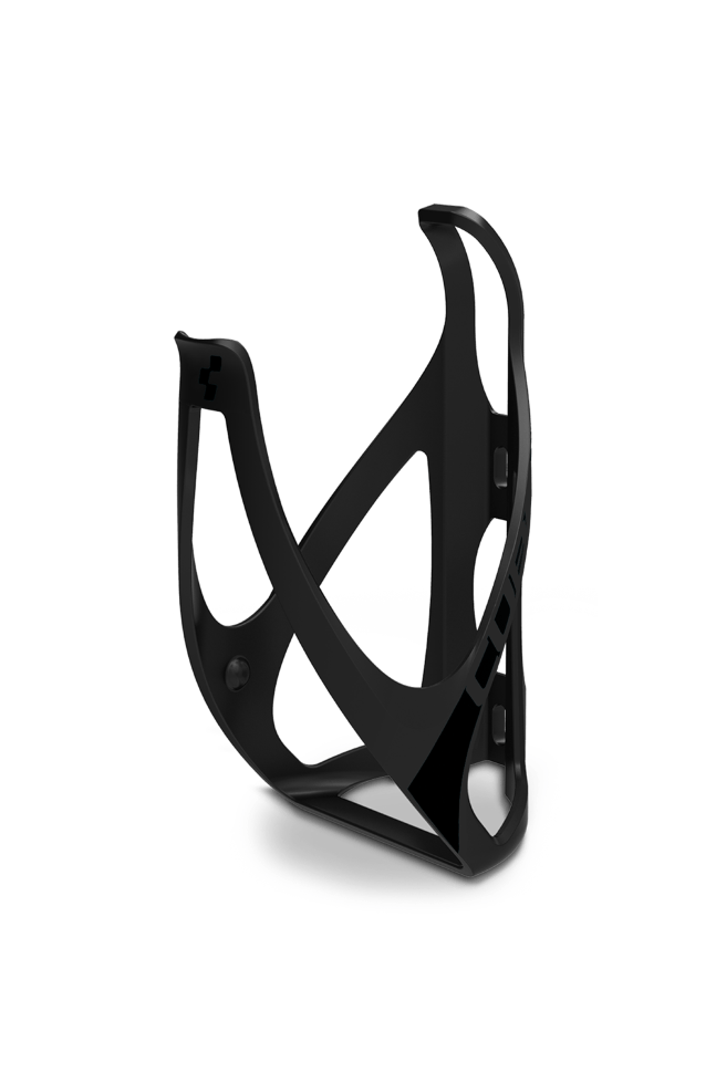Флягодержатель Bottle Cage HPP matt black´n´glossy black (cube13020)