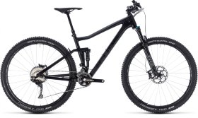 Велосипед Cube Stereo 120 HPC SL 29 (2018) Carbon Grey