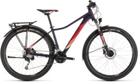Велосипед Cube Access WS Pro Allroad 27.5 (2019) Aubergine Rose