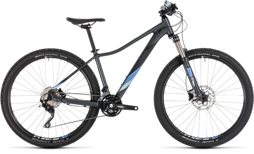 Велосипед Cube Access WS Race 27.5 (2019) Iridium Blue