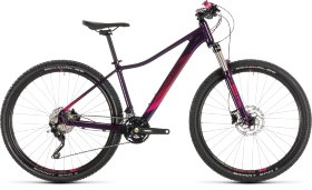 Велосипед Cube Access WS Race 29 (2019) Aubergine Berry
