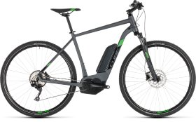 Велосипед Cube Cross Hybrid Pro 400 (2019) Iridium Green