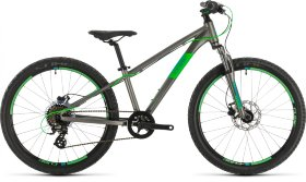 Велосипед Cube Acid 240 Disc (2020) Grey Neongreen