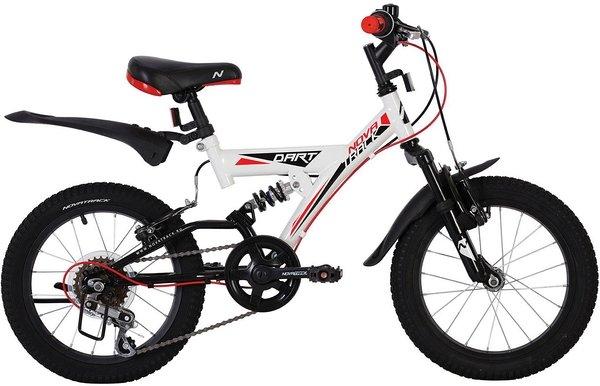 Велосипед Novatrack Dart 16 (2020) Белый