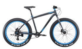 Велосипед Welt Fat Freedom 1.0 HD (2019) Matt Black Blue