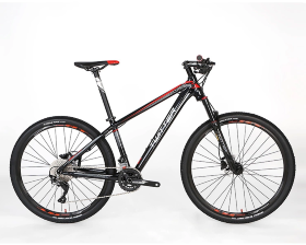 Велосипед Twitter MTB Elvis Black-Red