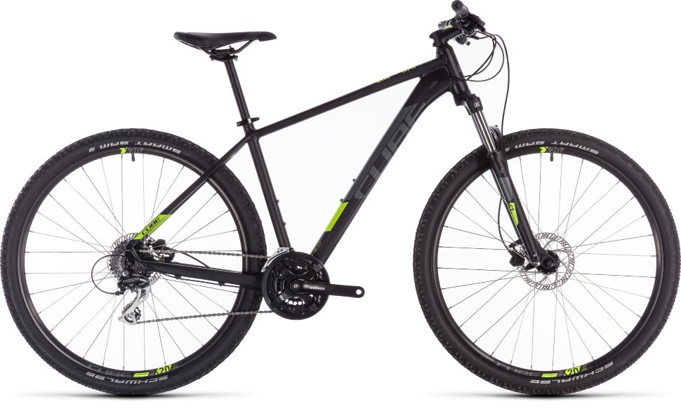 Велосипед Cube Aim Pro 27.5 (2019) Black Flashyellow