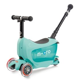 Самокат Micro Mini 2go Deluxe Plus (Mint)
