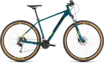 Велосипед Cube Aim SL 27.5 (2019) Pinetree Flashyellow