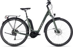 Велосипед Cube Touring Hybrid One 400 Easy Entry (2018) Frostgreen Silver