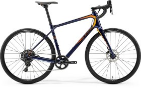 Велосипед Merida Silex 6000 (2019) Dark Blue Orange