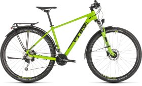 Велосипед Cube Aim SL Allroad 27.5 (2019) Green Black
