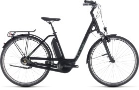 Велосипед Cube Town Hybrid One 500 Easy Entry (2018) Black Frostgreen
